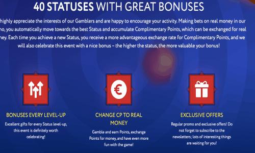 olika bonusar