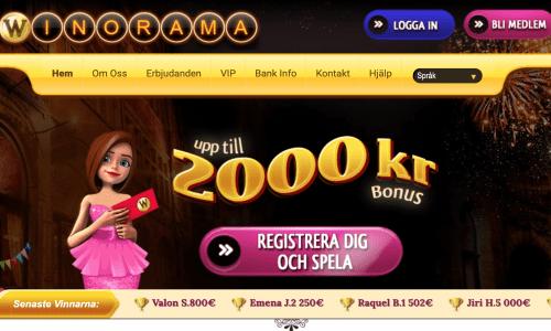 winorama hemsida - casinoorbit.com