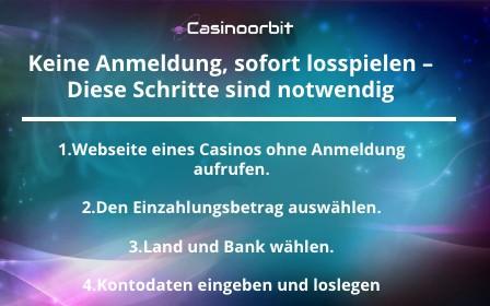 Casino ohne Registrierun