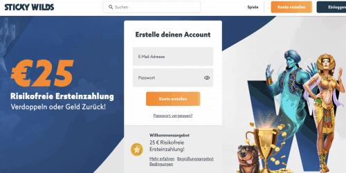 25 € Risikofreie Ersteinzahlung!