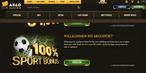 Argo Testbericht - casinoorbit.com