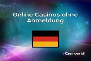 Online Casino ohne Anmeldung und Registrierung