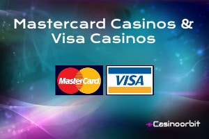 Mastercard Casinos & Visa Casinos